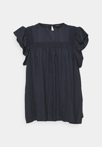 Soaked in Luxury - AMOLI TOP - Blouse - india ink - 0