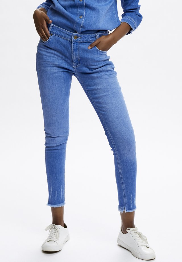 DHCELINA RAW  - Jeans Skinny Fit - light blue/ blue wash