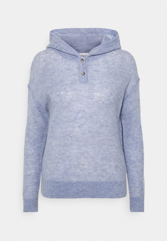 LONG SLEEVE WITH HOOD - Sweter - soft heaven