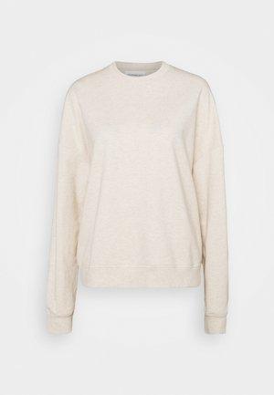 BASIC OVERSIZE SWEATSHIRT - Sweatshirts - beige