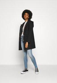 ONLY - ONLOLIVIA HOODED COAT - Classic coat - black - 1