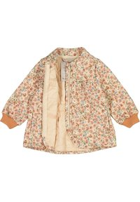 Wheat - Light jacket - alabaster flowers - 2