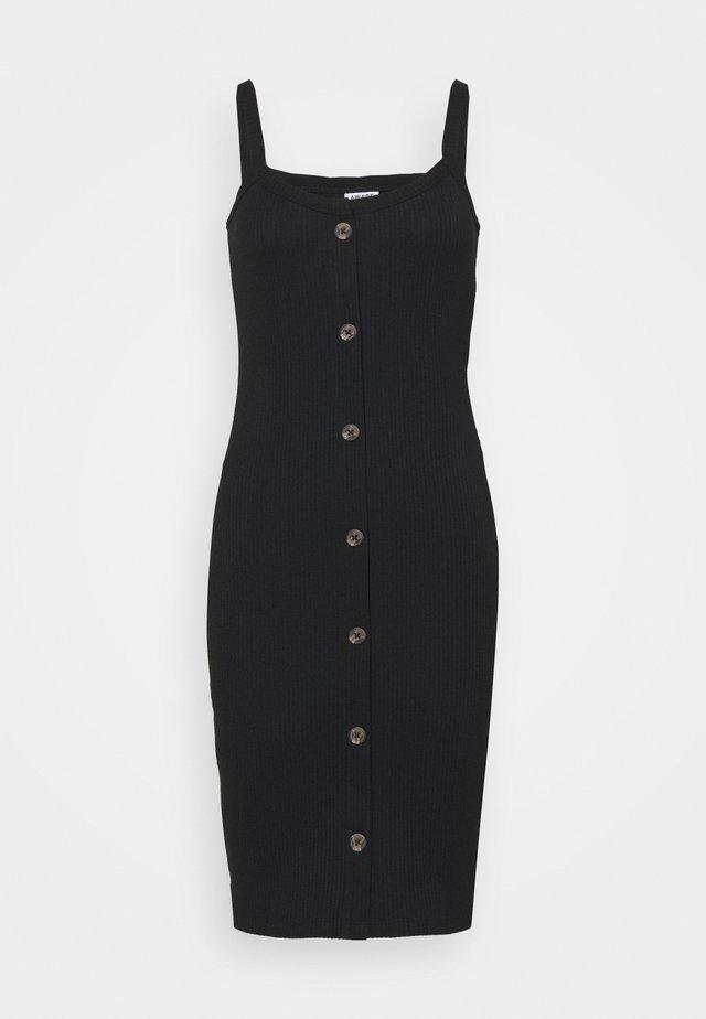 VMHELSINKI DRESS - Jersey dress - black