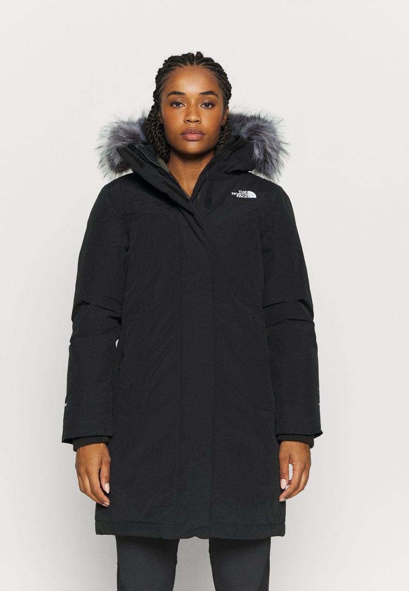The North Face - W ARCTIC PARKA - Down coat - black