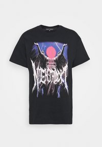 Night Addict - STATUE - Print T-shirt - black - 4