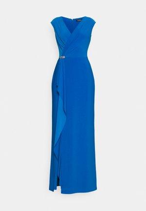 RYDER CAP SLEEVE EVENING DRESS - Společenské šaty - deep bondi blue
