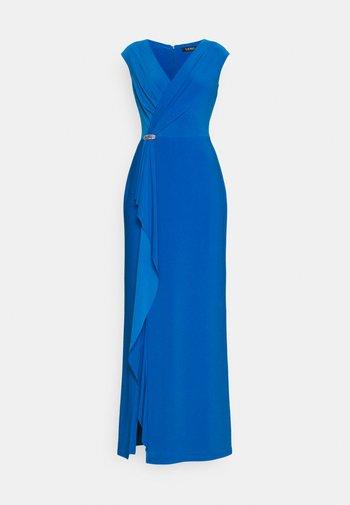 RYDER CAP SLEEVE EVENING DRESS - Occasion wear - deep bondi blue
