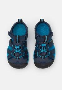 Keen - SEACAMP II CNX UNISEX - Sandalias de senderismo - black iris/vivid blue - 3