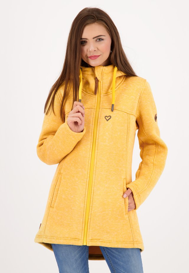 CHARLOTTEAK  - Fleece jacket - amber