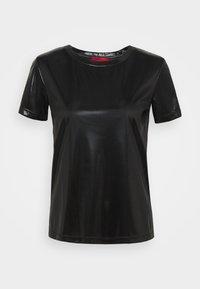 MAX&Co. - PRESENTE - Jednoduché triko - black - 5
