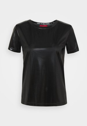 PRESENTE - Basic T-shirt - black