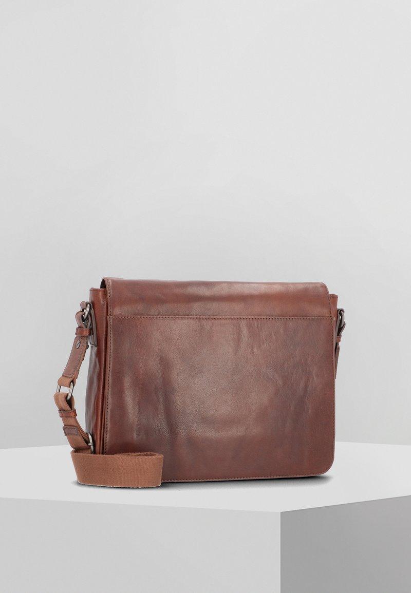 Leonhard Heyden - AUSTIN - Across body bag - brown