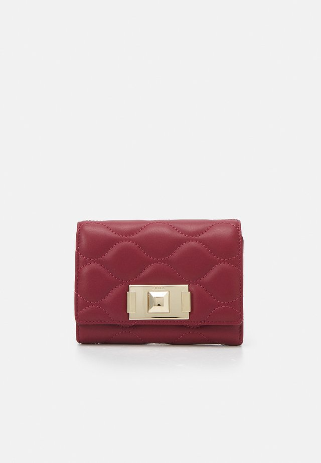 MIMI COMPACT WALLET - Lommebok - ciliegia