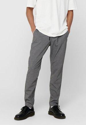 KLASSISCHE - Pantalon classique - light grey melange