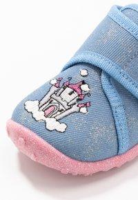 Superfit - SPOTTY - Slippers - blau - 5