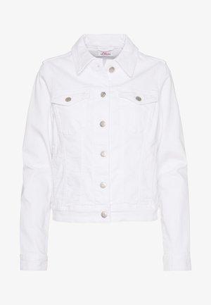 JACKE - Denim jacket - white deni
