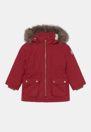 NMFMABE - Winter coat - red dahlia