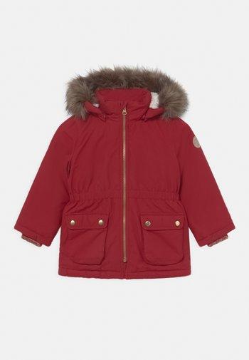 NMFMABE - Zimní kabát - red dahlia