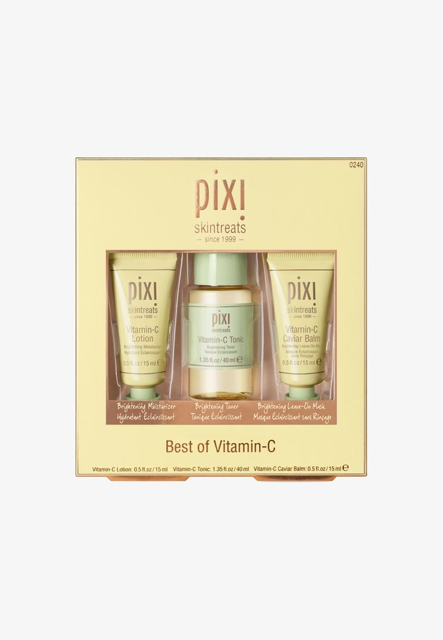 BEST OF VITAMIN C 15MLX40MLX15ML - Hudplejesæt - -