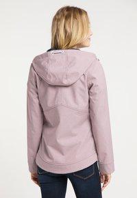 Schmuddelwedda - Outdoor jacket - altrosa melange - 2