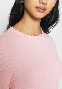 New Look - BABYLOCK TEE - Long sleeved top - light pink - 4