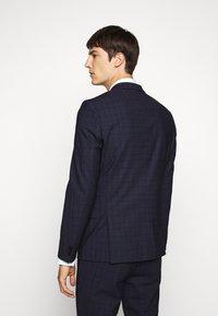 HUGO - ARTI HESTEN - Suit - blue/red check - 3
