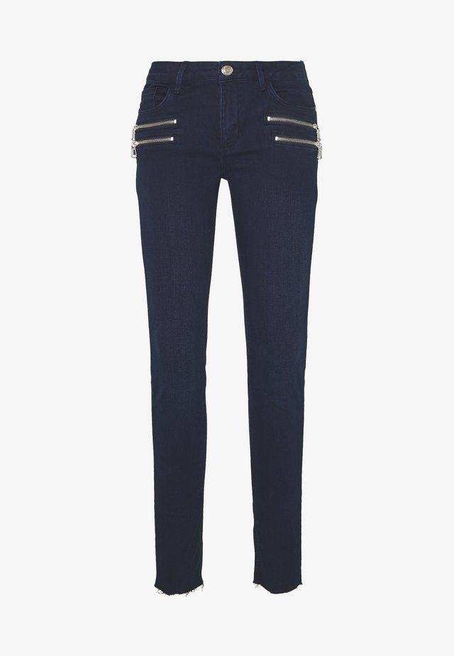 CHARLIE CORE ZIP - Jean slim - dark blue