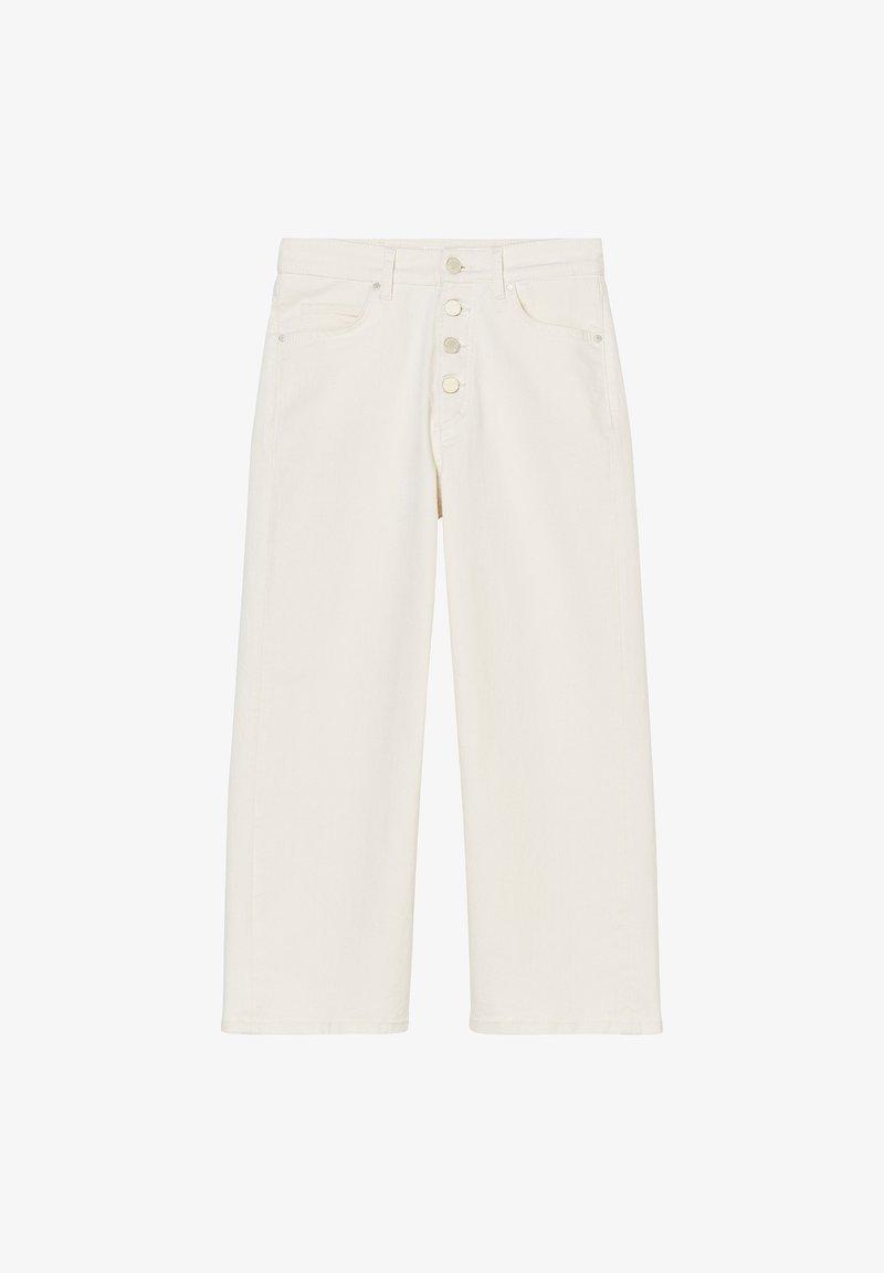Marc O'Polo DENIM - TOMMA  - Broek - multi off-white cotton