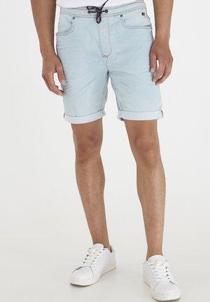 TWISTER - Denim shorts - denim light blue