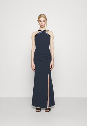 KYRA MAXI DRESS - Iltapuku - navy blue