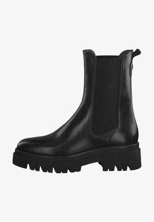 RFID  - Platform ankle boots - black