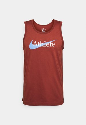 TANK ATHLETE - Top - dark cayenne