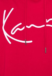 Karl Kani - SIGNATURE BLOCK HOODIE - Hoodie - dark red - 5