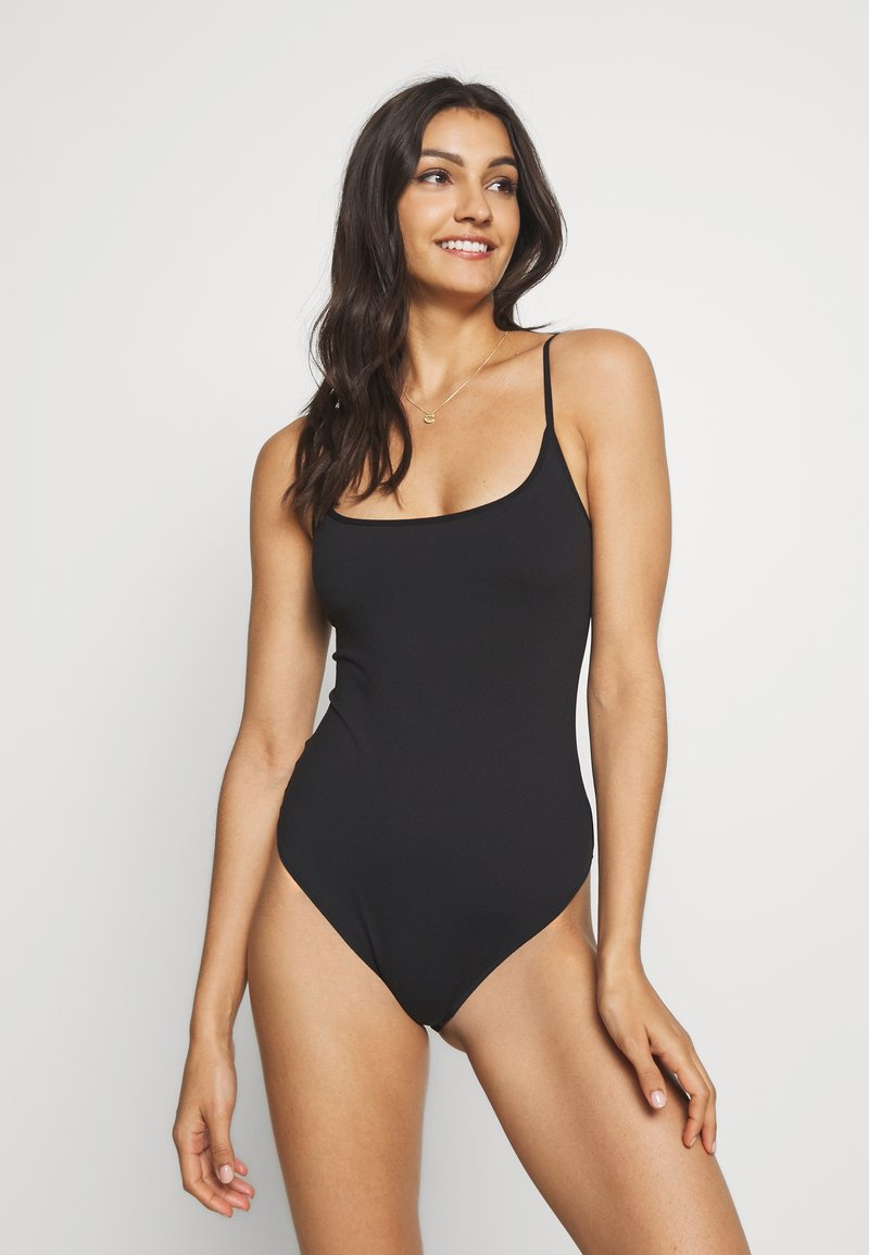 Free People - STRAPPY BASIQUE - Body - black