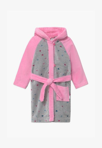 KIDS  - Dressing gown - grey/pink