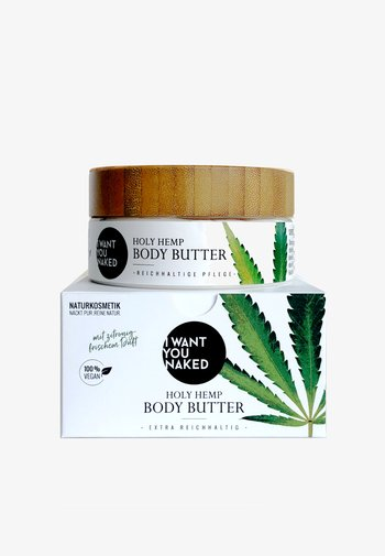 HOLY HEMP BODY BUTTER BIO-HANFSAMENÖL & VITAMIN E