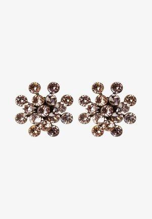 MAGIC FIREBALL - Earrings - beige big antique