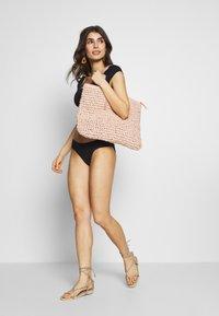aerie - BANDED PIECED - Bikini bottoms - true black - 1