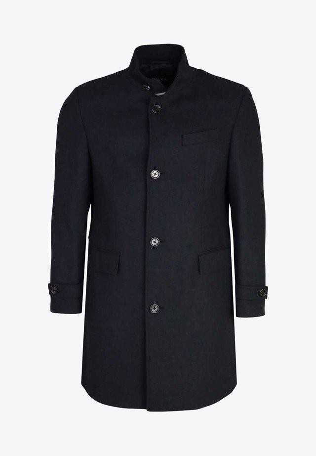DION MIT KNOPFLEISTE MUSTER - Classic coat - dark blue