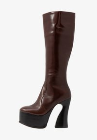 Jeffrey Campbell - COIL - High Heel Stiefel - coffee - 1