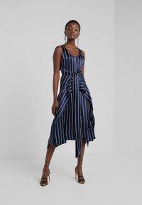 HUGO - KABILLY - Cocktail dress / Party dress - dark blue/white - 1