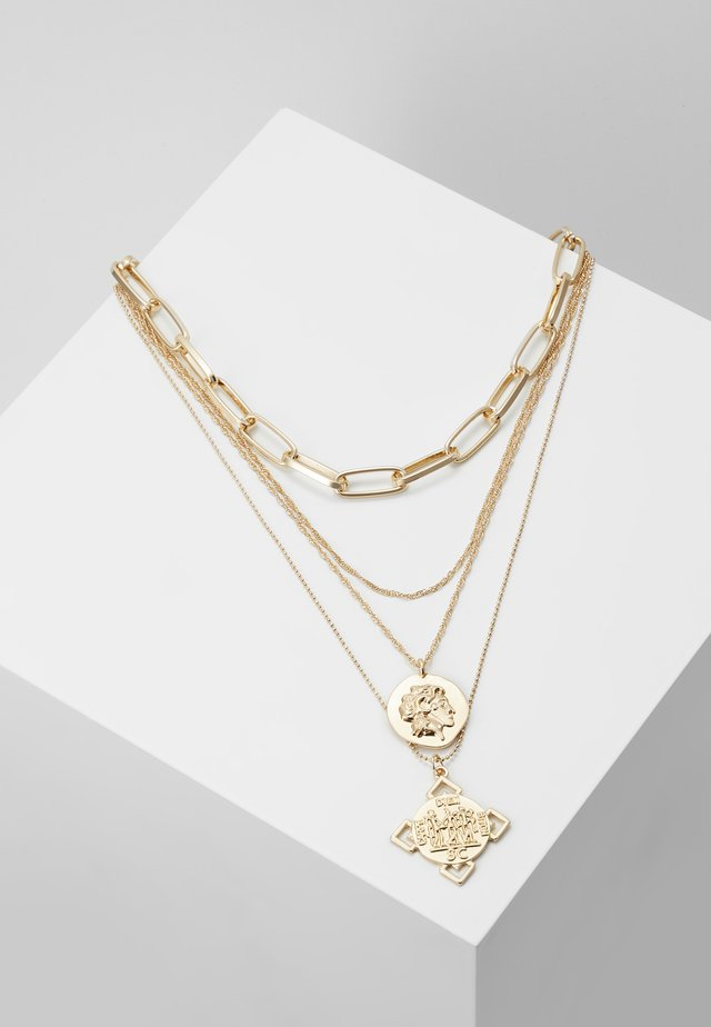 ONLBROOKLYN NECKLACE - Ketting - gold-coloured
