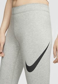 Nike Sportswear - Leggings - dark grey heather/black - 3
