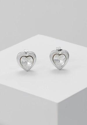 HEART - Earrings - silver-coloured