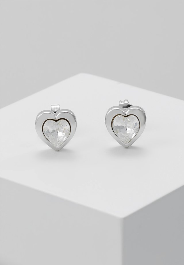 HEART - Pendientes - silver-coloured