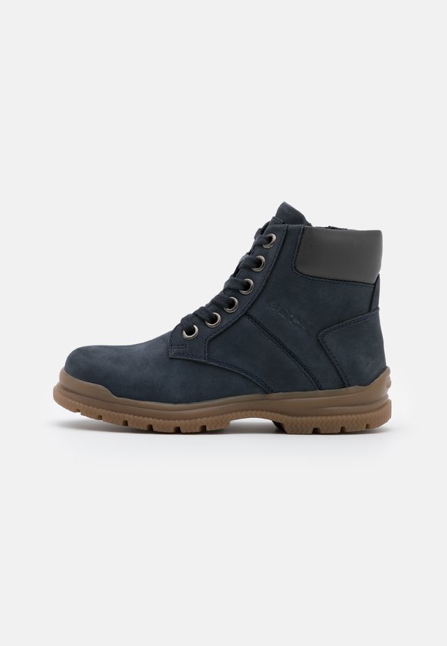NAVADO BOY - Lace-up ankle boots - navy/dark grey