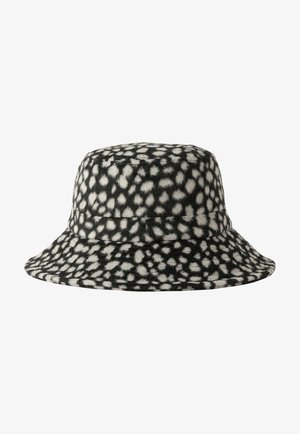 Hat - black/white