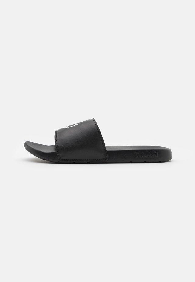 PLAYA SPORTS SLIDE - Mules - black/white