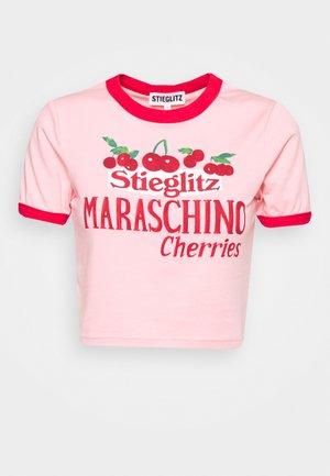 MARASCHINO - T-shirt con stampa - rosa