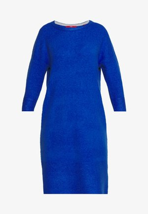 Strikket kjole - royal blue